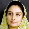 Harsimrat Kaur Badal, Union Minister of food processing industries