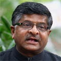 Ravi Shankar Prasad, Minister of Communication and IT